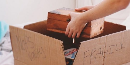 Mover boxes in Thornhill   Best Moving Company in GTA
